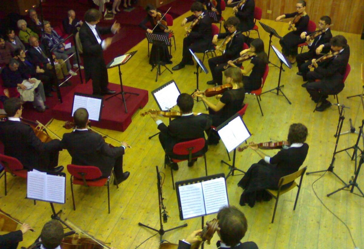 """Orchestra Giovanile """"Pergolesi"""", inaugural concert - Sala Puccini 18 may 2008"""