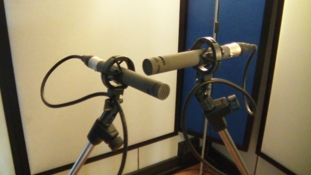 XY tecnique with matched Schoeps CMC6/MK5 (cardioid)